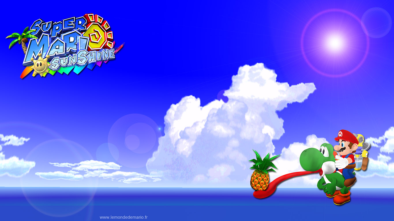 Super mario sunshine 31 photos fonds d 39 cran for Super fond ecran