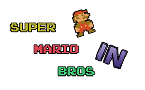 Logo Super Mario Bros In