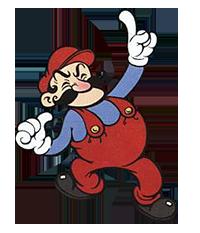 Artwork de Mario dans Donkey Kong