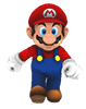 Mario dans super mario galaxy