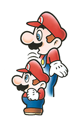 Mario devient Super Mario